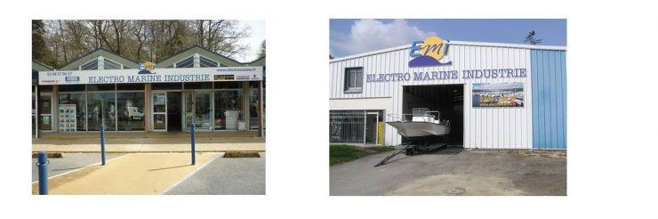 Entretien, réparation, hivernage, manutention et vente de moteurs et pièces pour bateaux.